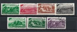 URSS414) 1948 -Piano Quinq.le Agricoltura -  Serie Cpl. 7val.USED - 1923-1991 URSS