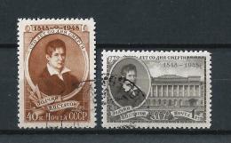 URSS417) 1948 -W.P.STASSOV -  Serie Cpl. 2val. USED - 1923-1991 URSS