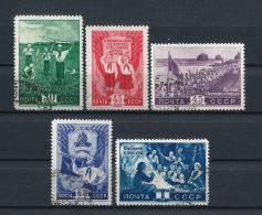 URSS419) 1948 -Organizz.ne Dei PIONIERI -Serie Cpl. 5val.USED - 1923-1991 URSS