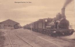 THORIGNE - LA GARE - TRAIN - 72 - France