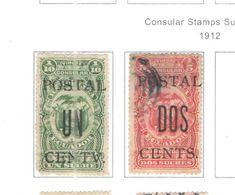 Ecuador PO 1912 Consular Surch.  Scott.216/217+ See Scans On Scott.Page - Ecuador
