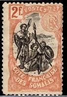 Côte Des Somalis YT N° 65A Neuf *. B/TB. A Saisir! - Côte Française Des Somalis (1894-1967)