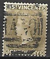SAINT - VINCENT    -   1883.   Y&T N° 24 Oblitéré. - St.Vincent (...-1979)