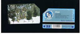 POLONIA (POLAND) - TP  - ANIMALS: CANIS LUPUS  - USED - RIF. 10254 - Poland