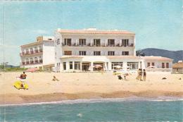 """Hotel """"Rosa Dels Vents - San Antonio De Calonge, Plage (petite Animation) Circulé Sous Enveloppe, Aspect Granuleux - Gerona"""