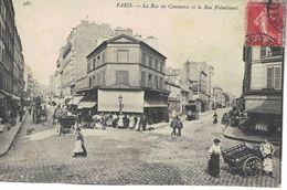 75015 La Rue Du Commerce Et La Rue Fremicourt - Arrondissement: 15