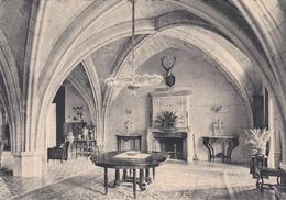 CPSM Dentelée En NB De LONGPONT (02) -  L' Abbaye  -  La  Salle à Manger  -  Ancien Cellier  Du  XII° S.   //  TBE - Frankrijk