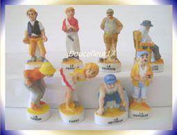 Petanque .. Lot De 8 Fèves ...  Ref AFF : 93-2007 ...( Pan 0026) - Characters