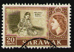SARAWAK 1955 - From Set Used - Sarawak (...-1963)
