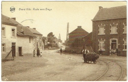 Grand Ville. Route Vers Oreye. - Oreye