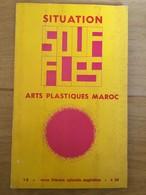 Souffles - Revue Culturelle Arabe Du Maghreb Dirigée Par Abdellatif Laâbi - N°7 Et 8 : Janvier 1968 (très Rare) - Autres