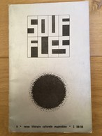 Souffles - Revue Culturelle Arabe Du Maghreb Dirigée Par Abdellatif Laâbi - N°9 : Avril 1968 (très Rare) - Autres