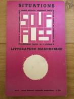 Souffles - Revue Culturelle Arabe Du Maghreb Dirigée Par Abdellatif Laâbi - N°10 Et 11 : Septembre1968 (très Rare) - Autres