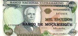 Mozambique P.119  1000 Escudos 1976  Unc - Mozambique
