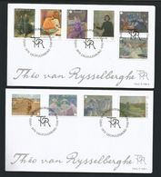Belgium 2013 Rijsselberghe OCB  4323/4332 (0) - FDC