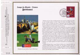 FEUILLET CEF TIRAGE LIMITE, COUPE DU MONDE EN FRANCE A SAINT-DENIS, 1998 - 1998 – France