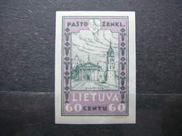 Lithuanian Child # Lietuva Litauen Lituanie Litouwen Lithuania 1932 MH # Mi. 321B - Lithuania