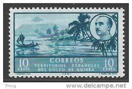 1949 10c San Carlos Bay, Mint Never Hinged - Spanish Guinea