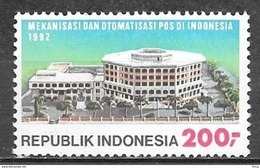 1992 200r Postal Anniversary MNH - Indonesia