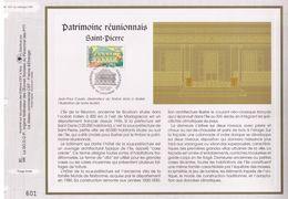 FEUILLET CEF TIRAGE LIMITE, PATRIMOINE REUNIONNAIS, SAINT-PIERRE, 1998 - Monuments