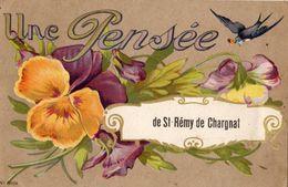 UNE PENSEE DE SAINT-REMY-DE-CHARGNAT - Altri Comuni