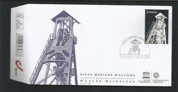 Belgium 2014 Waalse Mijnsites  (0) - FDC