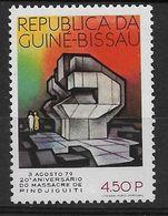 GUINEA - BISSAU 1979   Pindjiguiti Massacre - Guinée-Bissau