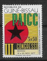 GUINEA - BISSAU 1977  PAIGC - Guinée-Bissau