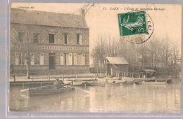 CAEN . L'Ecole De Natation Berteau . - Caen