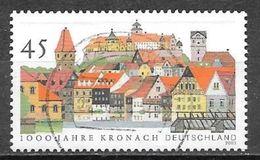 2003 45c Kronach, Used - [7] Federal Republic