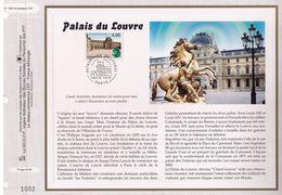 FEUILLET CEF TIRAGE LIMITE, PALAIS DU LOUVRE, 1998 - Monuments