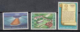 GRECIA 1968 - GREECE - OLYMPICS MEXICO 68 - YVERT Nº 967-969 - Verano 1968: México
