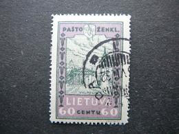 Lithuanian Child Lietuva Litauen Lituanie Litouwen Lithuania 1932 Used # Mi. 321 A - Lithuania