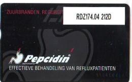 Telefoonkaart  LANDIS&GYR  NEDERLAND * RDZ.174.04  212D * PEPSIDIN * Pays Bas * TK * ONGEBRUIKT * MINT - Nederland