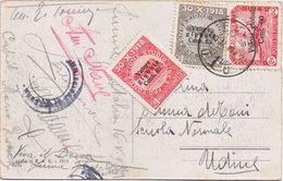 Cartolina Fiume > Udine Viaggiata 1920 - 8. Ocupación 1ra Guerra