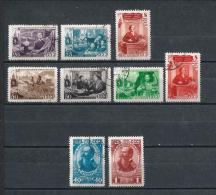 URSS425) 1949 -Lotto Dell'Annata -2 Serie Cpl 9val.USED - 1923-1991 URSS