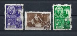 URSS429) 1949 -Giornata Della RADIO - Serie Cpl 3 Val.USED - 1923-1991 URSS