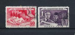 URSS430) 1949 -Giornata Della STAMPA E Del LIBRO - Serie Cpl 2  Val. USED - 1923-1991 URSS