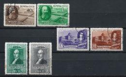 URSS434) 1949 -Lotto Dell'Annata - 3 Serie Cpl 6 Val.USED - 1923-1991 URSS