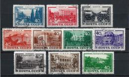 URSS435) 1949 -Stazioni Climatiche - Serie Cpl 10 Val.USED - 1923-1991 URSS