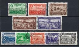 URSS441) 1949 -Lotto Dell'Annata - 3 Serie Cpl.10 Val.USED - 1923-1991 URSS