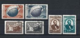 URSS437) 1949 -Lotto Dell'Annata - 3 Serie Cpl 6 Val.USED - 1923-1991 URSS