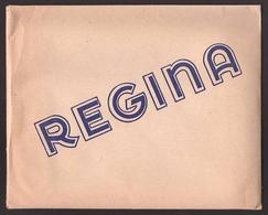 """BUSTA CARTA DA LETTERA - """"Regina"""" Taschetta Con 10 Fogli E Buste - (anni '50) - Supplies And Equipment"""