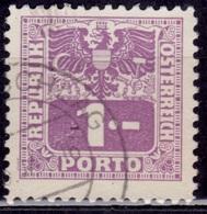 Austria, 1945, Postage Due, 1s, Sc#J185, Used - Postage Due