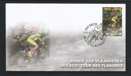 Belgium 2013 Ronde Van Vlaanderen OCB 4314  (0) - FDC