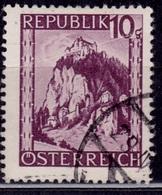 Austria, 1947, Carinthia Mountain, 10g, Sc#485, Used - 1945-.... 2nd Republic