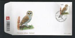 Belgium 2010 Owl OCB 3983  (0) - FDC