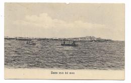 LIBIA - ZUARA VISTA DAL MARE 1919  -  NV FP - Libya