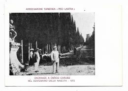 ASSOCIAZIONE TURISTICA PRO LASTRA A SIGNA ONORANZE A  ENRICO CARUSO AFF.TA LIRE 50 FG - Firenze (Florence)