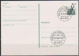 BRD Ganzsachen 1989 MiNr.P140 Stempel Ersttag 10.8.1989 Weiden  Ungelaufen (d 5997 )  Günstige Versandkosten - BRD
